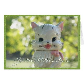 Vintage Cat Cookie Jar 2976-customize Card