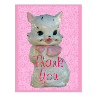 Vintage Cat Cookie Jar Postcard - customize