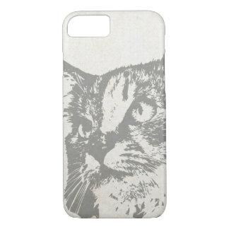 Vintage Cat iPhone Case