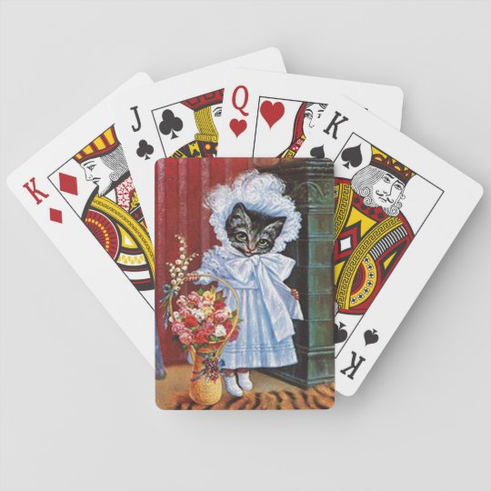 Vintage Cat Playing Cards, Arthur Thiele Playing Cards