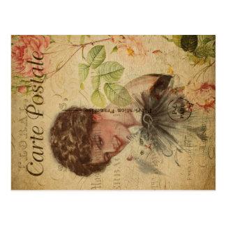 Vintage Cat Theme   Carte Postale   Cat Lady Postcard