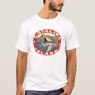 Vintage Catalina Island, CA  Travel Decal T-Shirt