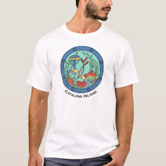 Vintage Catalina Island Design - Undersea Garden T-Shirt