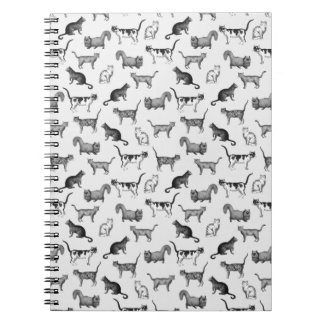 Vintage Cats Pattern Note Book