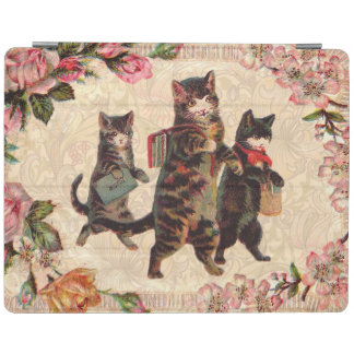 Vintage Cats Pretty Antique Kitty iPad Cover