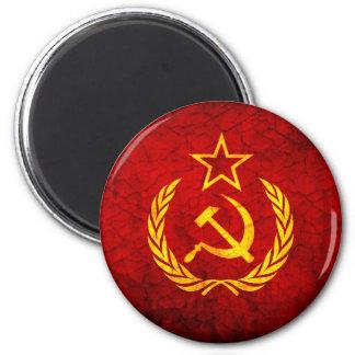 Vintage CCCP flag Magnet