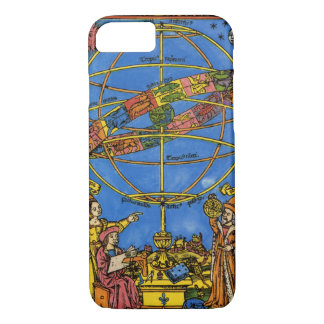 Vintage Celestial, Astronomer Claudius Ptolemy iPhone 8/7 Case