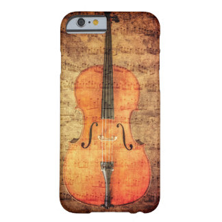 Vintage Cello Barely There iPhone 6 Case