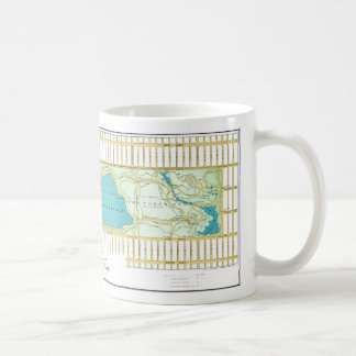 Vintage Central Park NY Guide Map Coffee Mug