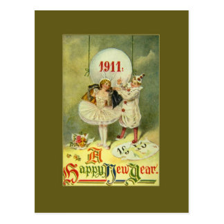 Vintage Century New Year Post Cards