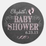 Vintage Chalkboard Look - Baby Shower