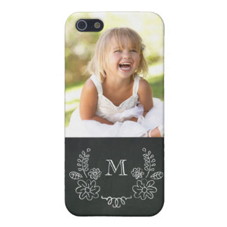 Vintage Chalkboard Photo iPhone 5 Case