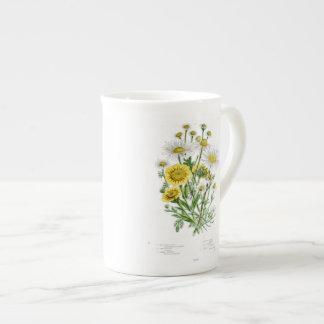 Vintage Chamomile Tea Cup