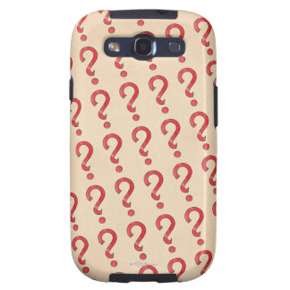 Vintage Chance - Red Samsung Galaxy S3 Cases