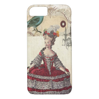 Vintage Chandelier french queen  Marie Antoinette iPhone 8/7 Case