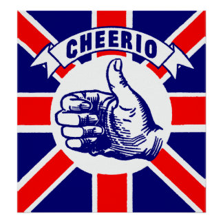 Vintage Cheerio Poster