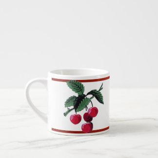 Vintage Cherries Espresso Cup