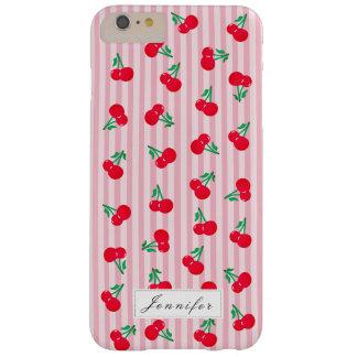 Vintage Cherries Pattern iPhone 6/6S Plus Case