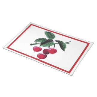 Vintage Cherries Placemat