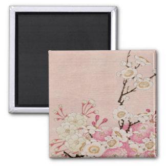 Vintage Cherry Blossom-Japanese Magnet
