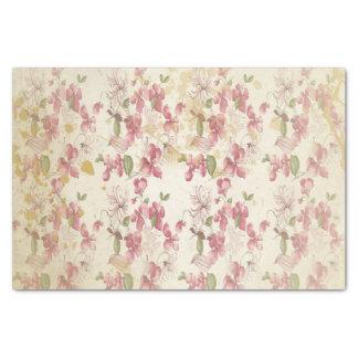 Vintage Cherry Blossoms Tissue Paper