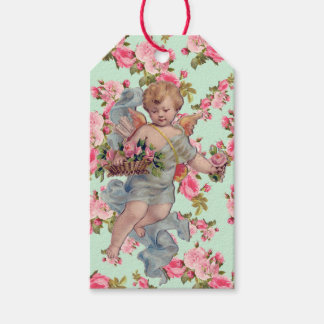 Vintage Cherub / Floral Gift Tags