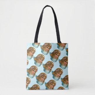 Vintage Cherubin Tote Bag