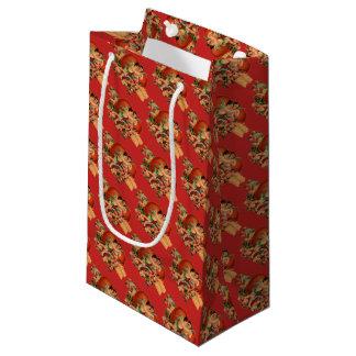 Vintage Cherubs Valentine's Small Gift Bag