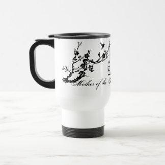 Vintage chic birds birdcage Mother of the bride Travel Mug