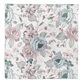 Vintage Chic Garden Floral Duvet Cover