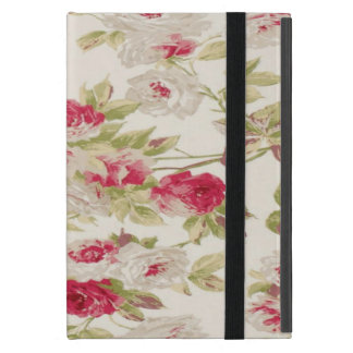 Vintage Chic  Shabby Girly Roses Case For iPad Mini