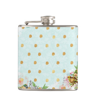 vintage,chic,victorian,collage,girly,modern,cute,m hip flask