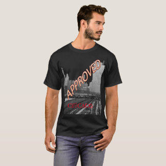 Vintage Chicago Approved Rail Yards Michigan Ave T-Shirt