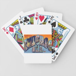 Vintage Chicago City Bicycle Playing Cards