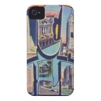 Vintage Chicago City iPhone 4 Case