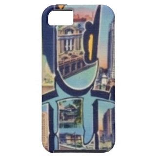 Vintage Chicago City iPhone 5 Case