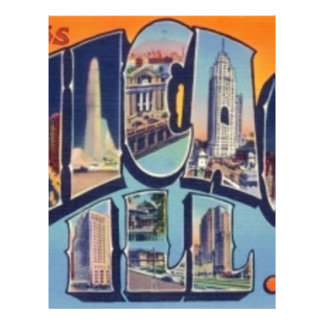 Vintage Chicago City Letterhead