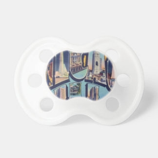 Vintage Chicago City Pacifier