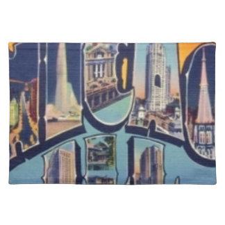 Vintage Chicago City Placemat
