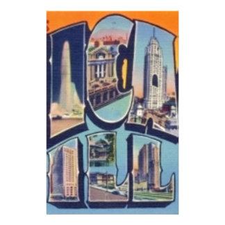 Vintage Chicago City Stationery