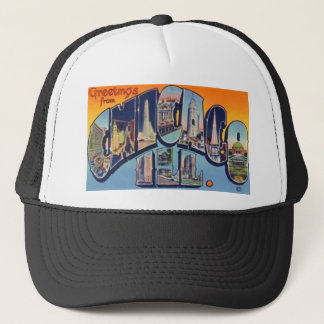 Vintage Chicago City Trucker Hat