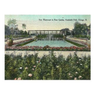 Vintage Chicago Park Postcard
