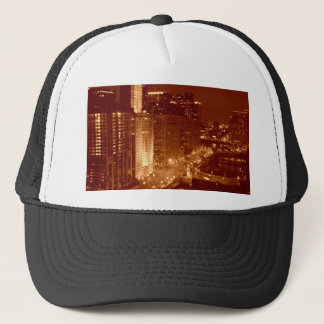 Vintage Chicago River Trucker Hat