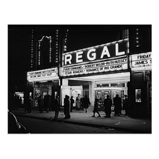 Vintage Chicago, The Regal Theater Marquee Post Cards