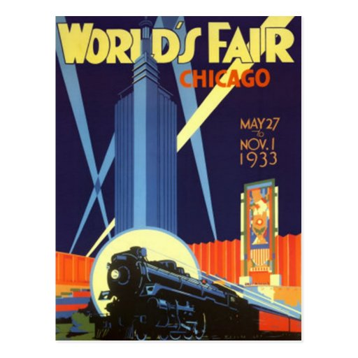 Vintage Chicago, USA - Postcards