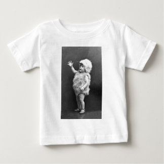 Vintage Chicken Suit Girl Easter Costume Baby T-Shirt