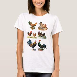 vintage chickens design T-Shirt