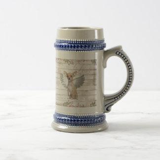 Vintage chihuahua - Valentines day Beer Stein