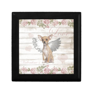 Vintage chihuahua - Valentines day Gift Box