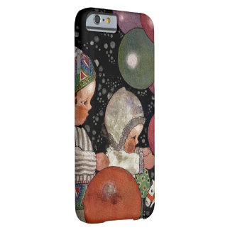Vintage Children Birthday Party, Balloons and Toys Barely There iPhone 6 Case